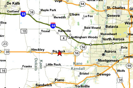Bristol Illinois Map.Self Storage In Sugar Grove Illinois